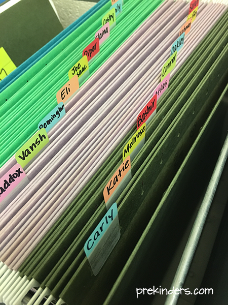 File Folders for Students