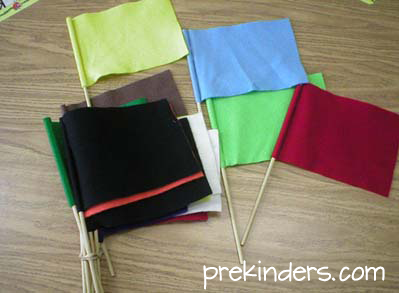 Color Flags for Music