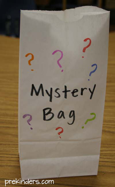 Mystery Bag for Letter Sounds