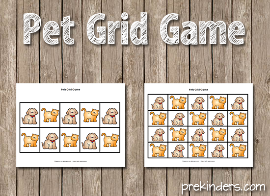 Pet Grid Game