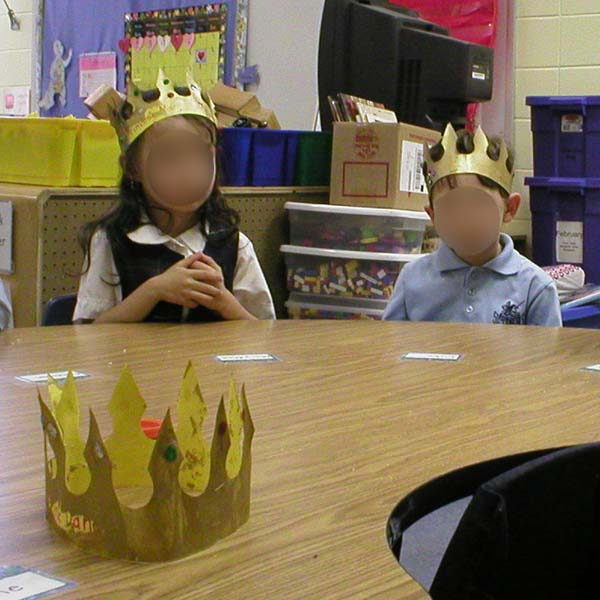 fairy tale crowns to make with kids