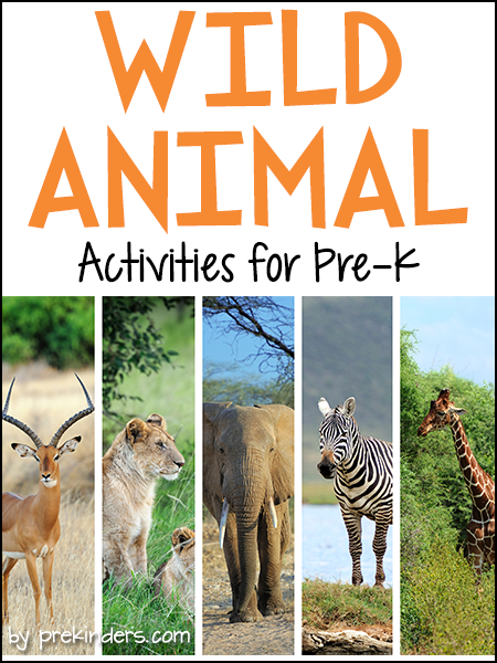 Wild Animals Activities Preschool