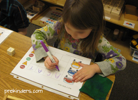 roll 'n' write games collection @ prekinders.com