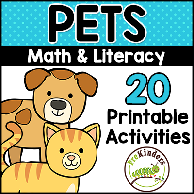 Pet Theme Printables