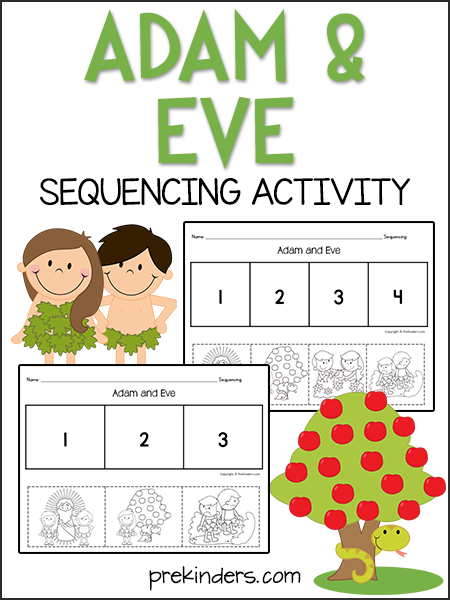 Adam and Eve Sequencing Activity