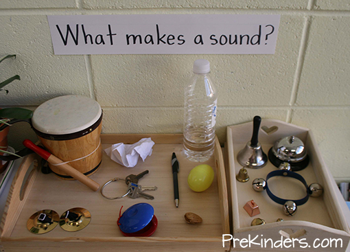 What Makes a Sound? Science Display