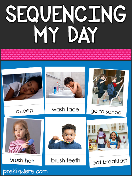 Sequencing My Day in Pre-K