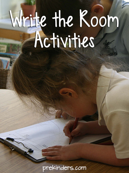 Write the Room in Pre-K