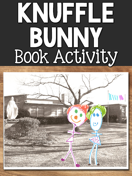 Mo Willems Knuffle Bunny Book Connection Activity