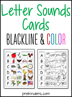 Printable Letter Sounds Cards