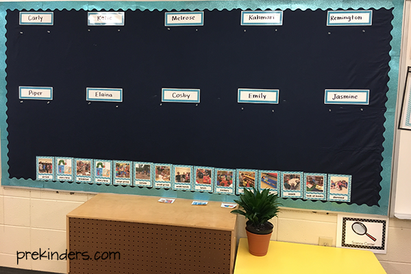 Bulletin Board Preschool