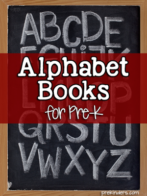 Alphabet Books for Preschool Children