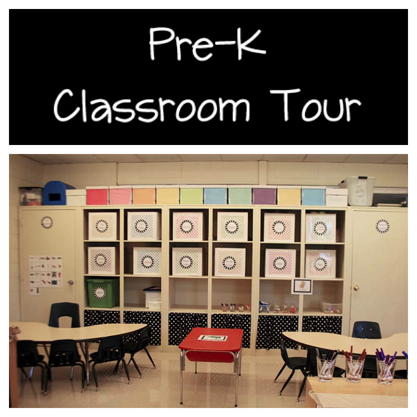 Pre-K Classroom Pictures