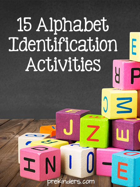 Alphabet Letter Activities for Pre-K