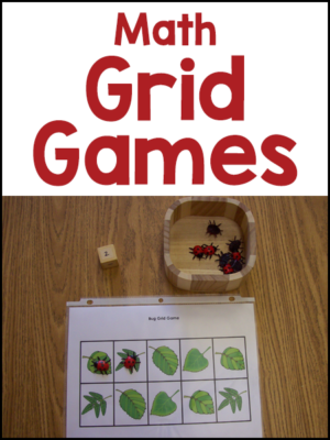 Math Grid Games for Pre-K
