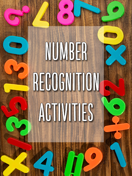Numeral Identification Activities