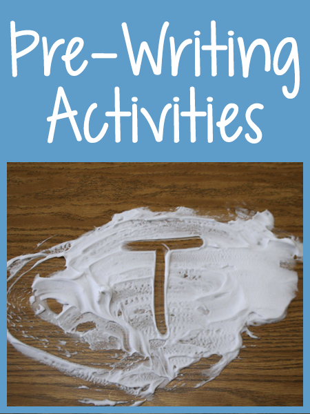 Pre-Writing Activities