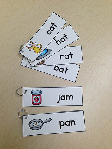 Rhyming Word Rings