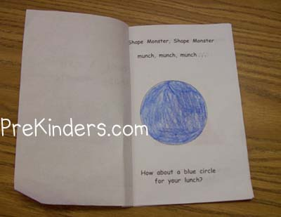 graphic relating to Shape Books Printable identify Education Designs in just Pre-K - PreKinders