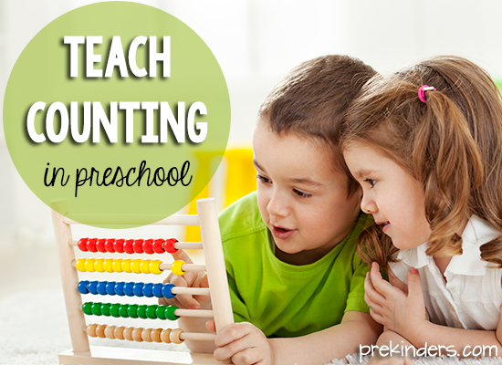 Teach Counting in Preschool