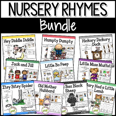 Nursery Rhyme Packs (TPT)