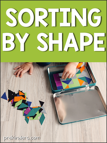 Sorting by Shape Activities