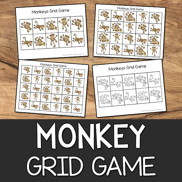 Monkey Grid Game