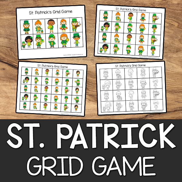 St. Patricks Grid Game