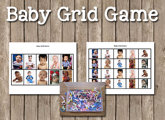 Baby Grid Game