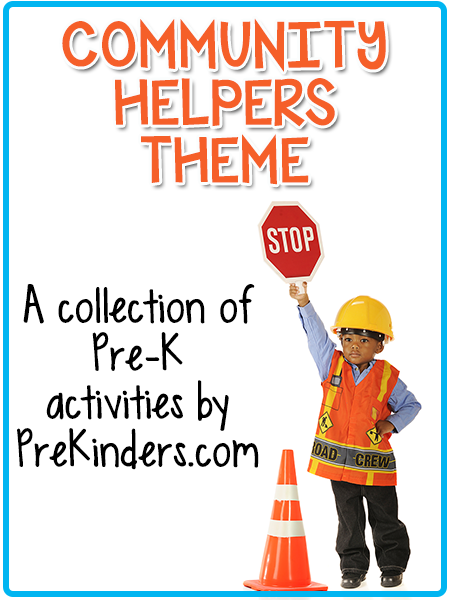 Community Helpers Theme Prekinders