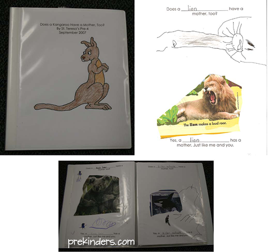 Animal Families Class Book