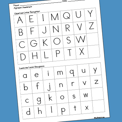 picture about Preschool Assessment Forms Free Printable named Pre-K Evaluation Types - PreKinders