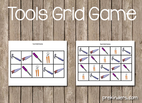 Tools Grid Game