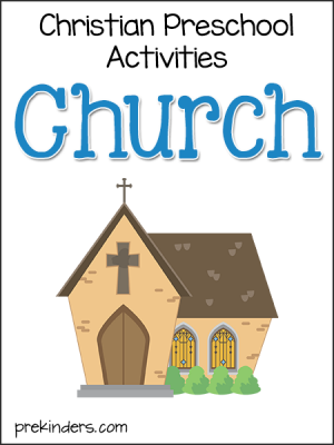 Church Christian Preschool Activities