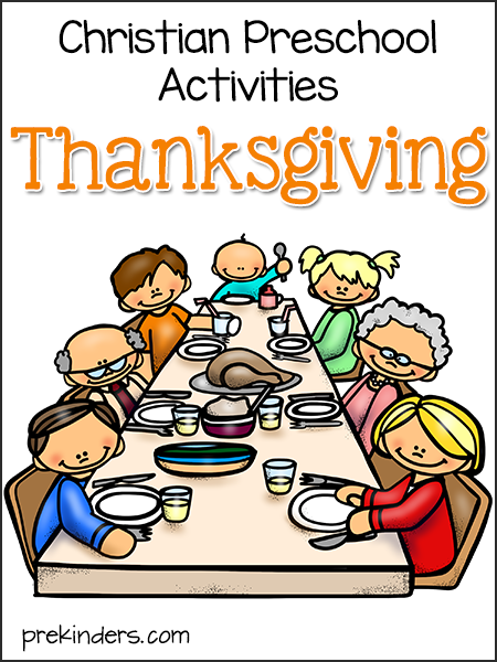 Thanksgiving Activities for Christian Preschools