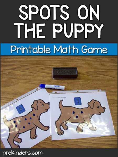 Spots on the Puppy: Pet Math Game
