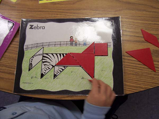 Animal Tangrams
