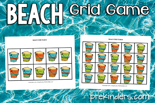 Beach Grid Game