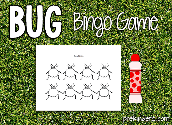 Bug Bingo Game