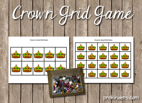 Crown Grid Game