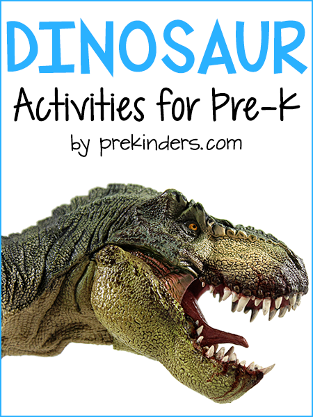 Dinosaur Activities for Preschool, Pre-K