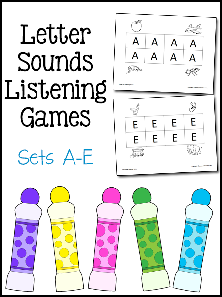 Current image throughout phonemic awareness printable games