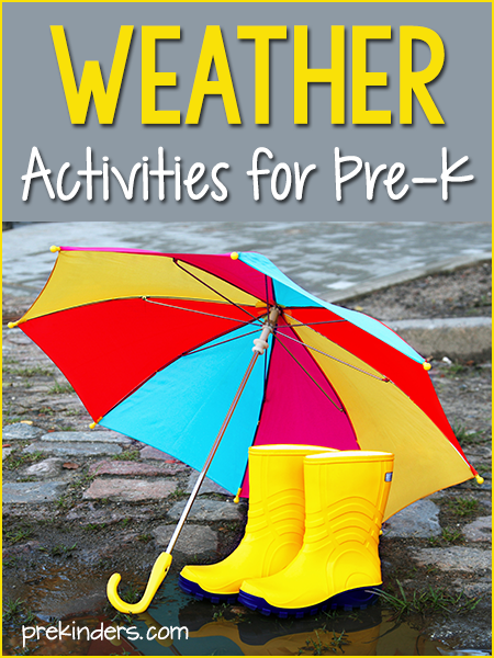 Weather Activities for Preschool