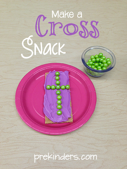 Make a Cross Snack for Easter