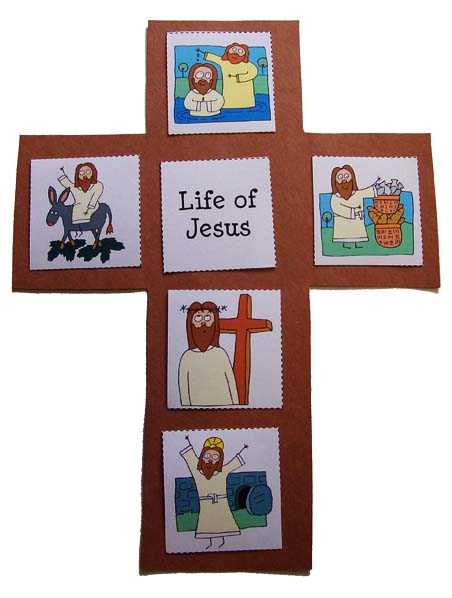 Easter Life Of Jesus Cross Prekinders