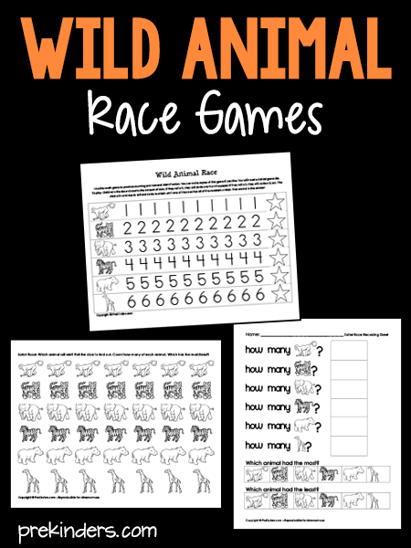 Wild Animal Dice Race Game