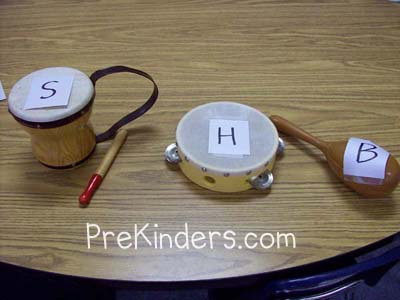 Alpha-Band: alphabet letter identification activities