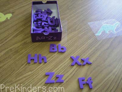 Matching Uppercase to Lowercase: alphabet letter identification activities