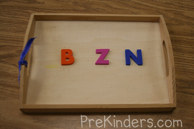 Letter Memory: alphabet letter identification activities