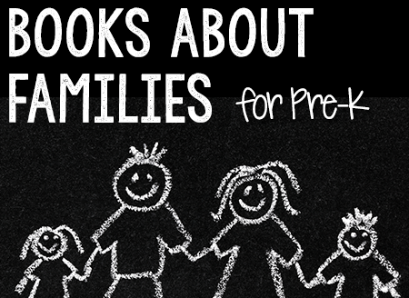 Books about Families for Pre-K